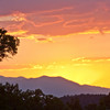 Sierra Sunset From Ancient Bristlecone Pines