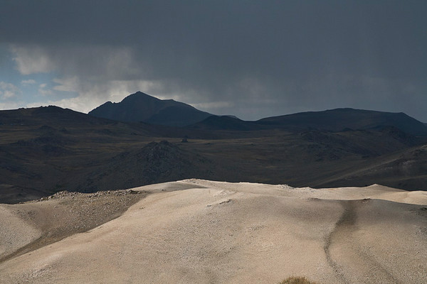 Stormy Mountainscape
