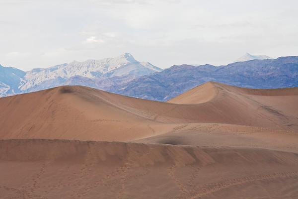 Mesquite Dunes #0292  against the Amargosa Range