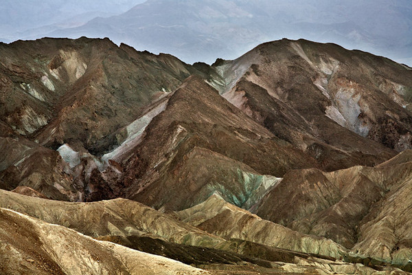 Zabriskie Point #0582  A zoom lens is essential for getting back into the areas with color.