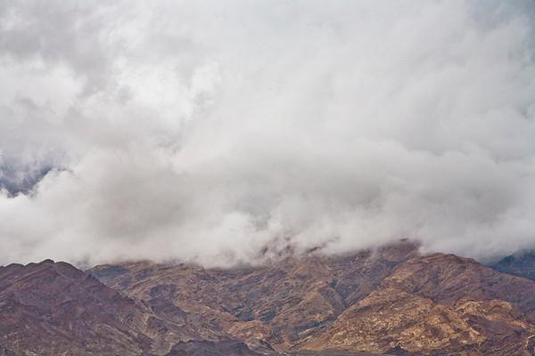 Rainy Day, Death Valley #0765  Looking toward Mosaic Canyon area.