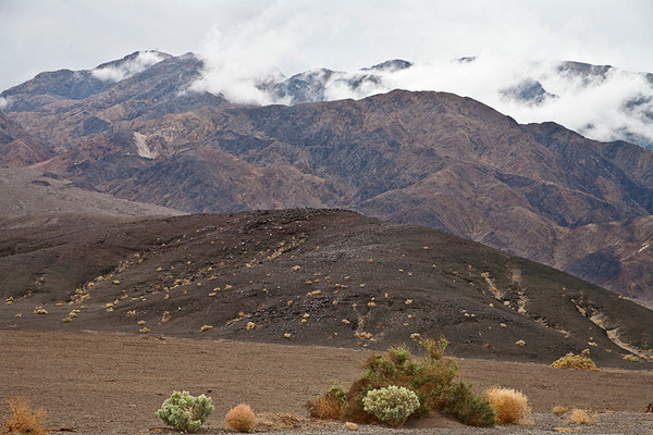 Rainy Day, Death Valley #0733  Looking toward Panamint Range.
