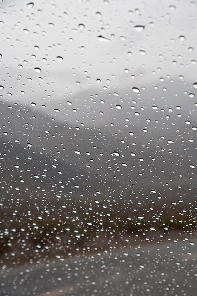 Rainy Day, Death Valley #0753  Near Stovepipe Wells.