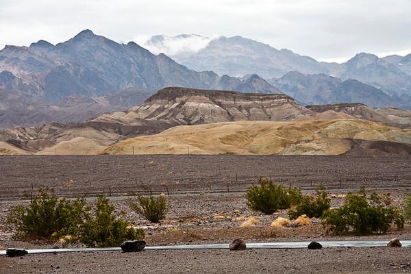 Rainy Day, Death Valley #0704  Near Furnace Creek.