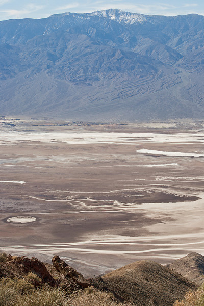 Dante's View #0449  Across Death Valley to the Panamint Mountains.