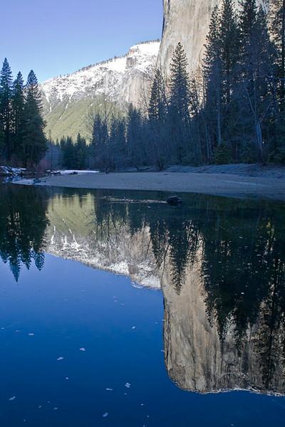 Winter Reflection, El Capitan