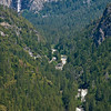 Bridal Veil Falls & The Merced River