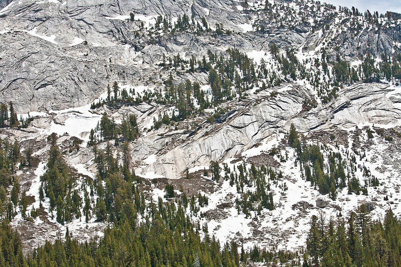 Granite Grandure Above Tenaya Lake