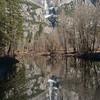 Yosemite Falls Reflection, Merced River
