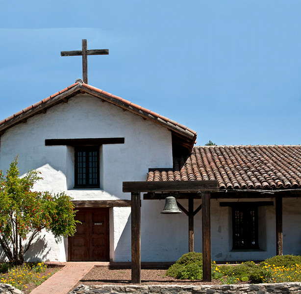 Mission San Francisco de Solano (Sonoma Mission, last mission, founded 1823)