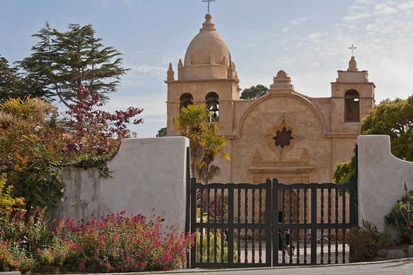 Mission San Carlos Borromco del Rio Carmelo (Carmel Mission, 2nd mission, founded 1771)
