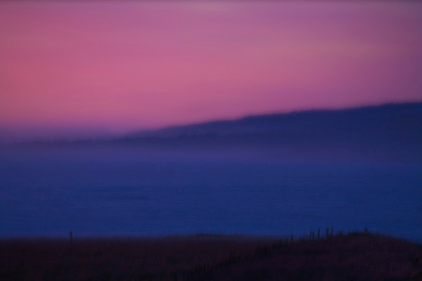 Sonoma Coast at Dusk Abstract