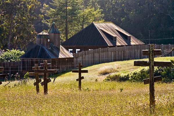 Russian Cemetery Outside Fort Ross