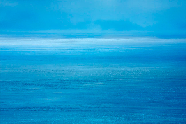The Azure Sea (photomontage)