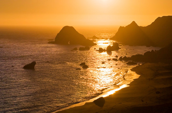 Goat Rock Beach Aglow