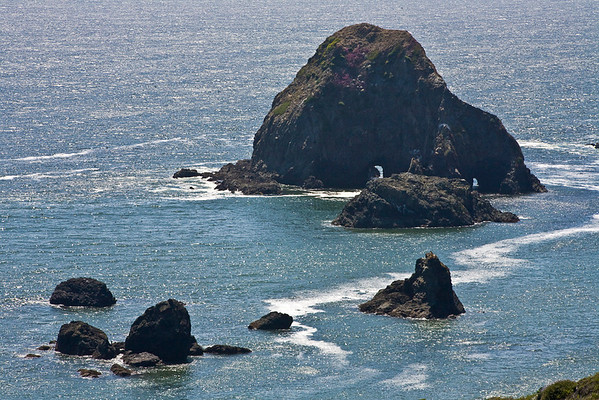 Double Arch Sea Stack, Goat Rock Beach
