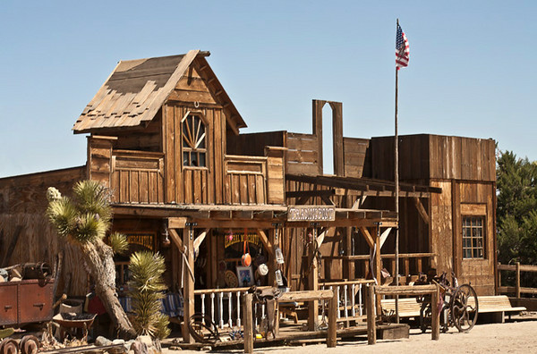 Pioneer Town, Morongo Canyon Near Palm Springs