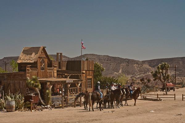 Riders, Pioneer Town, Morongo Canyon