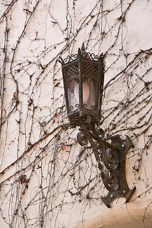 Lamp in Old Distict, Santa Barbara