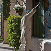 Lifelike Sculpture in Old District, Santa Barbara
