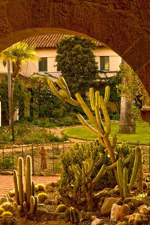 At Santa Barbara Mission