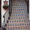 Tiled Starway in Old District, Santa Barbara