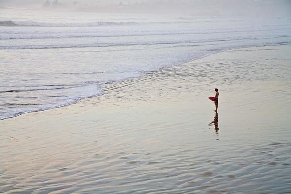 Pismo Beach Evening Contemplation #2678