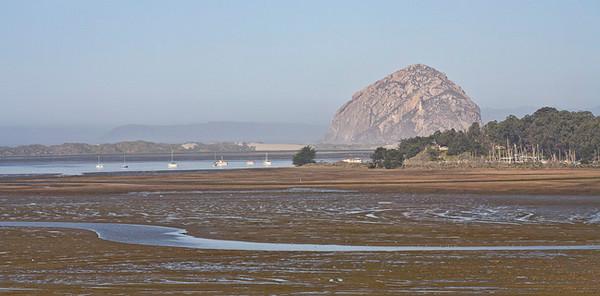 Morrow Rock Across Wetlands