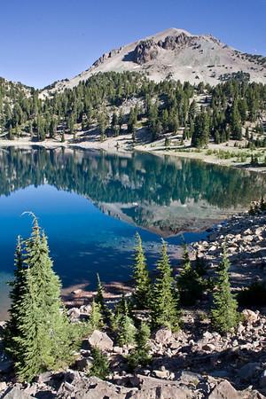 Lake Helen and Mt. Lassen