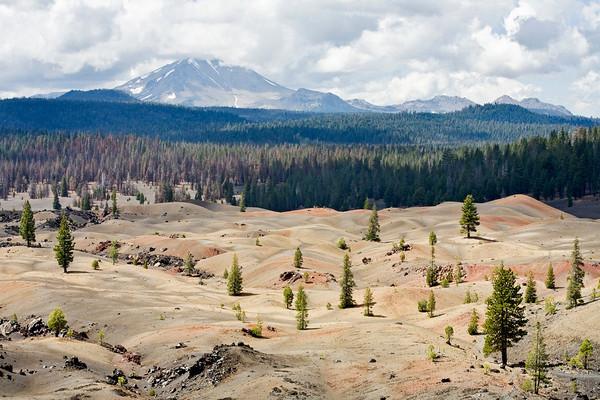 View Toward Mt. Lassen From Cinder Cone