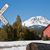 Mt. Shasta From Old McCloud Railroad Crossing