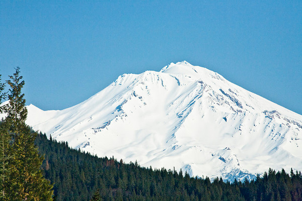 Mt. Shasta Wearing A New Coat of Snow