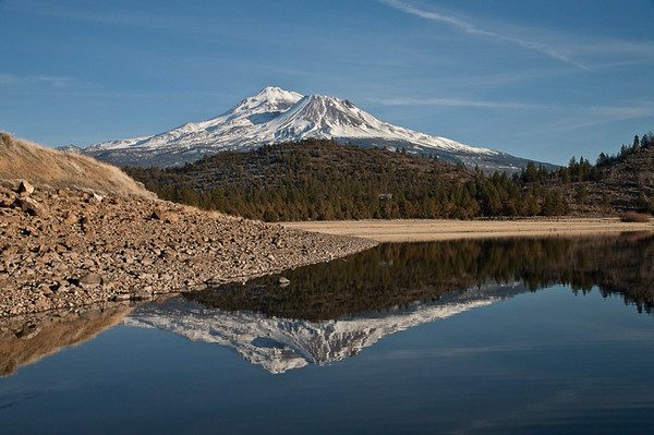 Mt. Shasta From Lake Shastina