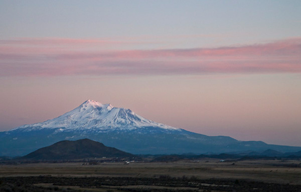 Mt. Shasta Evening