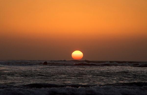 The Sun Surfing