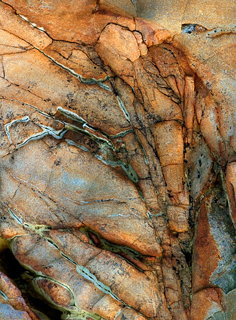 Point Arena Rock Abstract #2353