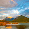 Vermillion Lakes Rainbow