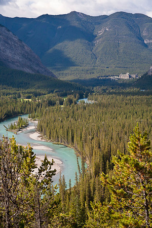 Bow River Valley Toward Banff