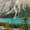 Peyto Lake & Its Source Panorama (Banff NP)