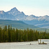 Athabasca River Island