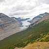 Saskatchewan Glacier from Parker Ridge