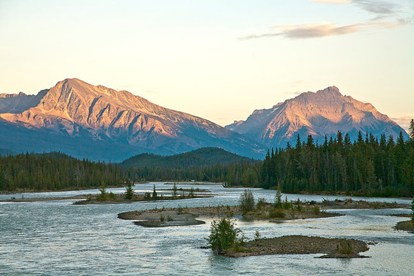 Athabasca River Evening