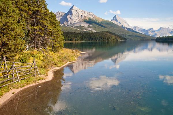 Maligne Lake Afternoon