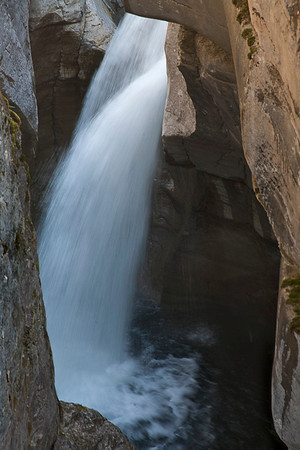 Another Drop in Maligne Canyon