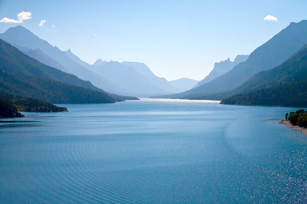 Almost Seeing Forever (Waterton Lakes)
