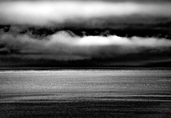 Sea Poem in Black & White