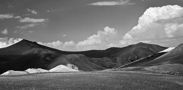 Light Play IV (White Mountains)