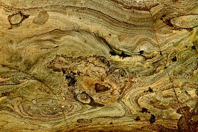 Rock Abstract IV (Bowling Ball Beach)