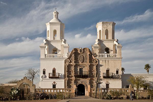 Mission San Xavier Del Bac (White Dove of the Desert)