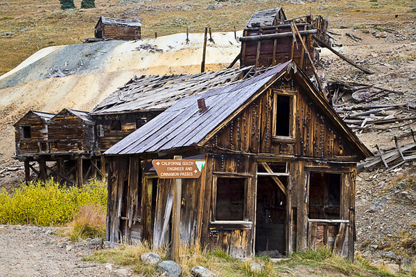 A Bit Out Of Kilter (Animas Forks Mine Area)